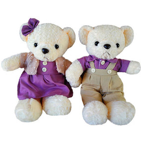 couple-bear-purple